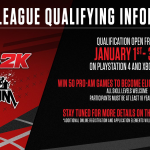 NBA 2K League Qualifying Info