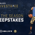 LIVESTRIKE Sweepstakes in NBA Live 18