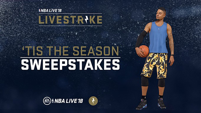 NBA Live 18 Patch 1.09 Released; LIVESTRIKE Sweepstakes | NLSC