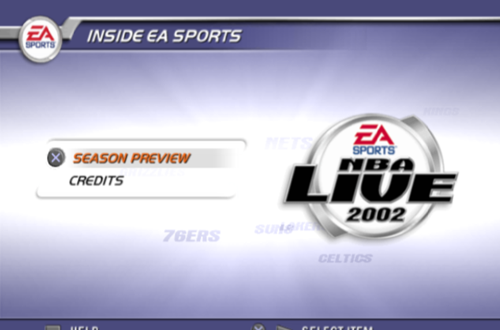 Inside EA Sports in NBA Live 2002