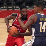 James Harden Drives in NBA Live 18