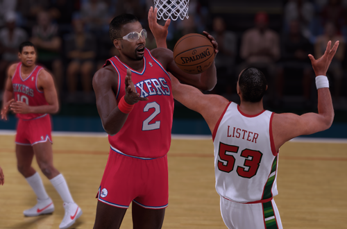 NBA Legend Moses Malone in NBA 2K16