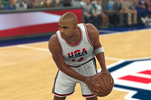 NBA Legend Charles Barkley in NBA 2K17