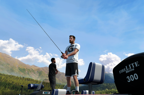 Fishing in MyCAREER (NBA 2K18)