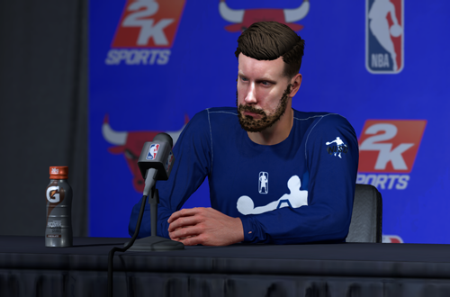 Press Conference in MyCAREER (NBA 2K18)