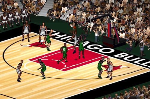 NBA Full CourtPress: Bulls vs Sonics