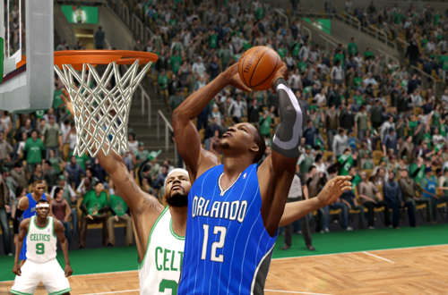 Dwight Howard Dunks (NBA Live 10)
