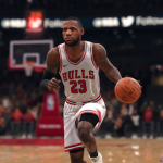 LeBron James on the Bulls in Ultimate Team (NBA Live 18)