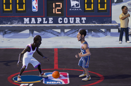 Arcade Basketball in NBA Playgrounds