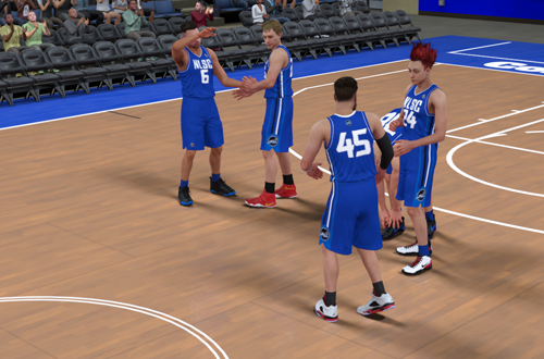 Playing 2K Pro-Am with NLSC GrindTime (NBA 2K18)