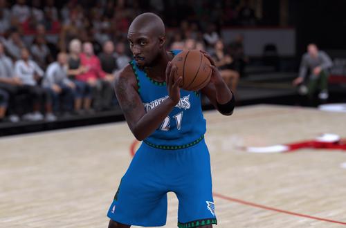 Kevin Garnett in NBA 2K18