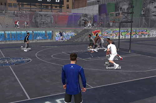 Online play has become a big part of basketball gaming.