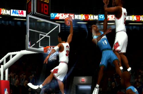 Pippen dunks in NBA Jam 2004