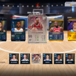 Playing through Ultimate Team (NBA Live 18)