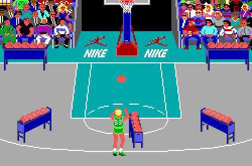 Jordan vs Bird: Three-Point Contest