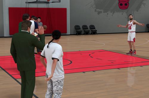Promo Shoot in MyCAREER (NBA 2K18)