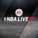 NBA Live 18 Title Screen