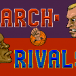 Arch Rivals Title Screen