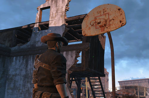 Basketball in Fallout 4
