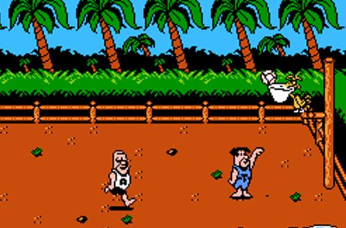 Basketball in The Flintstones: The Rescue of Dino & Hoppy