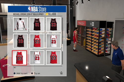 Improvements are needed in terms of VC Prices (NBA Store in NBA 2K18)