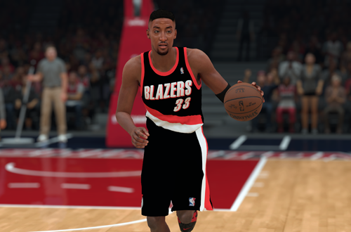 Scottie Pippen on the All-Time Trail Blazers (NBA 2K18)