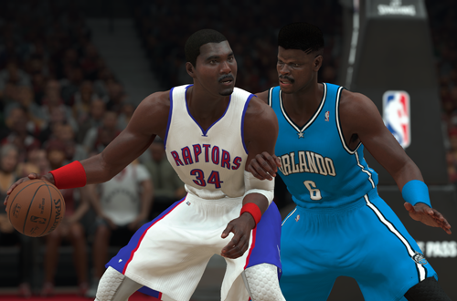 All-Time Raptors Hakeem Olajuwon vs. All-Time Magic Patrick Ewing (NBA 2K18)