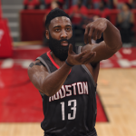 James Harden stirring in NBA Live 18