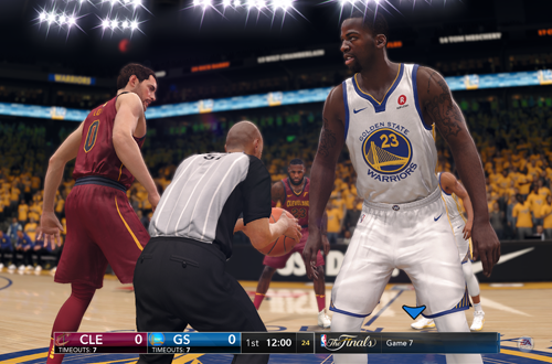 NBA Finals in NBA Live 18