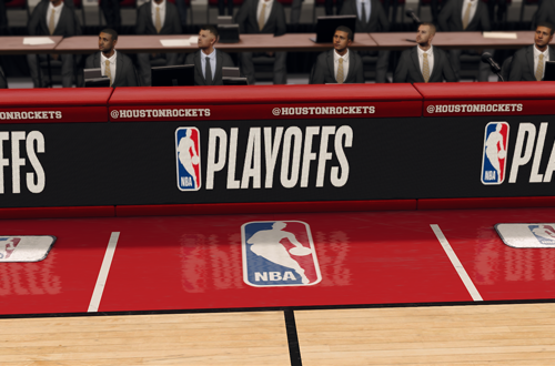 Playoffs Presentation in NBA Live 18