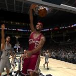 LeBron James in NBA Live 08