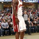 LeBron James in NBA Live 10
