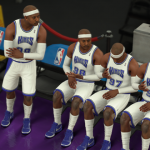2002 Kings Clones in NBA 2K18