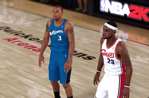 Retro Teams Ideas: 2007 Wizards (Caron Butler, NBA 2K18)