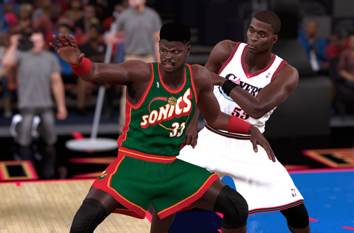 Ideas for Retro Teams: 2001 SuperSonics (Patrick Ewing, NBA 2K18)