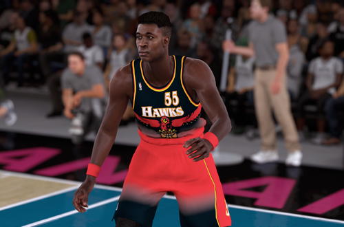 Retro Teams Ideas: 1997 Hawks (Dikembe Mutombo, NBA 2K18)