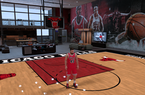 MyCOURT in NBA 2K18