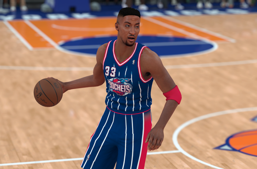 Ideas for Retro Teams: 1999 Rockets (Scottie Pippen, NBA 2K18)