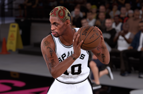 Ideas for Retro Teams: 1995 Spurs (Dennis Rodman, NBA 2K18)