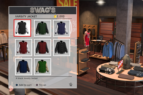 Swags in The Neighborhood (NBA 2K18)