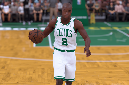 Ideas for Retro Teams: 2002 Celtics (Antoine Walker, NBA 2K18)