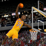 Arcade Mode in NBA Live 2000 featuring Shaq