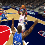Hakeem Olajuwon in the 1996 Mod (NBA Live 2004)