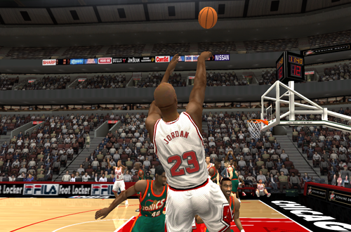 CustomArt Made the 1996 Season Mod for NBA Live 2004 Complete