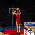 Steve Kerr in the Three-Point Shootout (NBA Live 98)