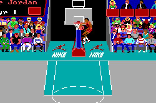 Air Jordan Slam in the Dunk Contest (Jordan vs Bird)