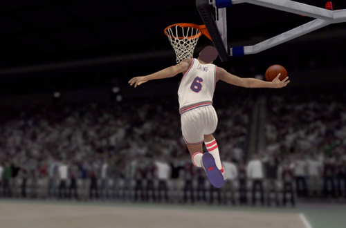 Julius Erving in the NBA 2K12 Introduction Video