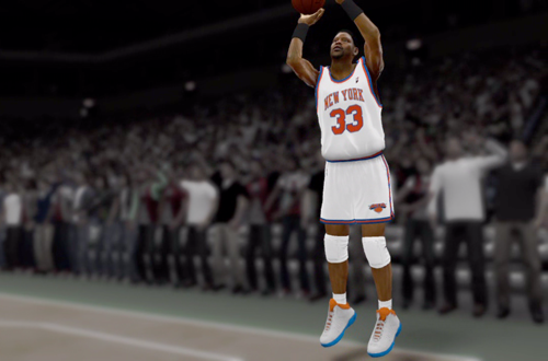 Patrick Ewing in the NBA 2K12 Introduction Video