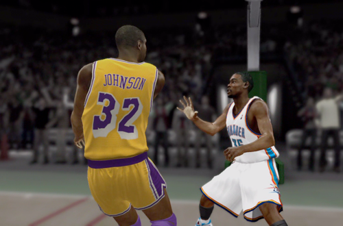 Magic Johnson in the NBA 2K12 Introduction Video