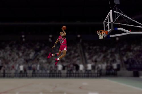 Michael Jordan in the NBA 2K12 Introduction Video